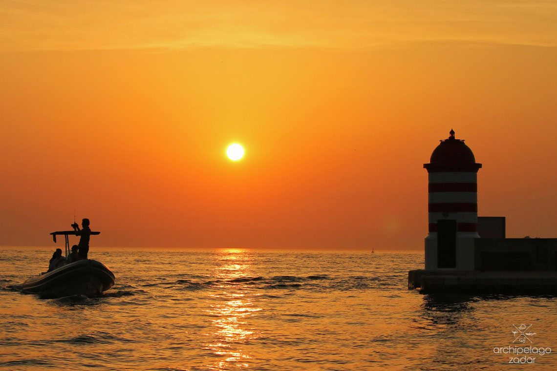 famous zadar sunset cover photo