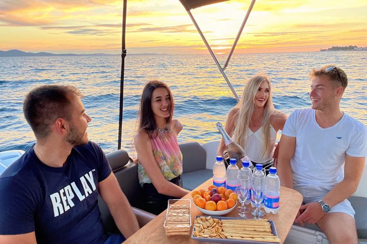 zadar sunset boat tour cover photo