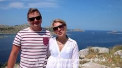 Customer reviews: Lizzie and Peter from London